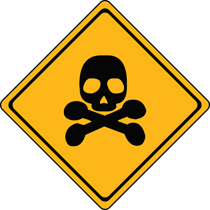 Danger sign image