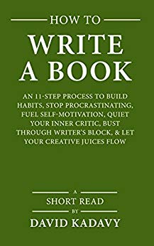 How to write a book image