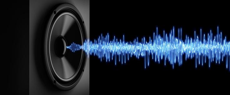 Lautsprecher mit Schall