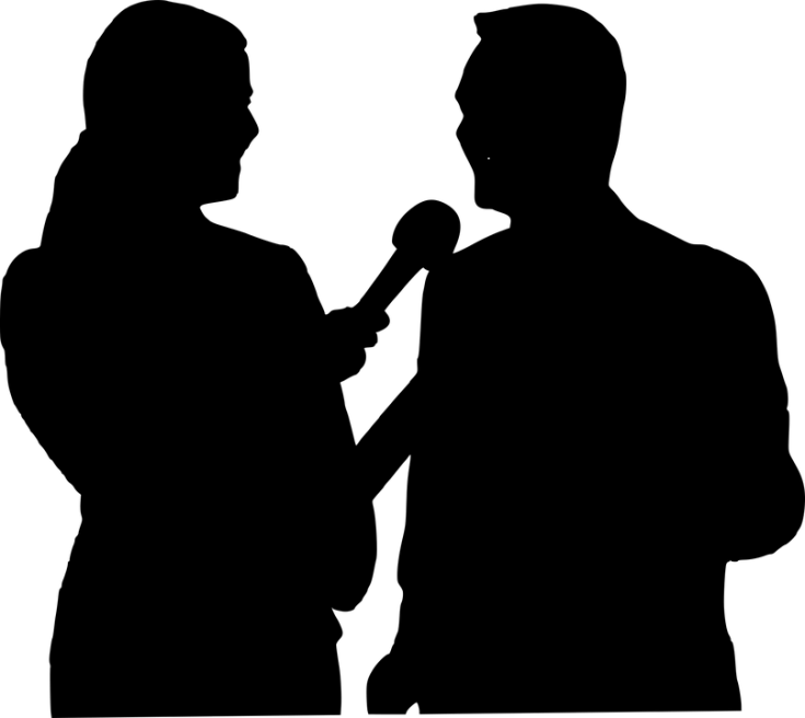 Interview image shadow